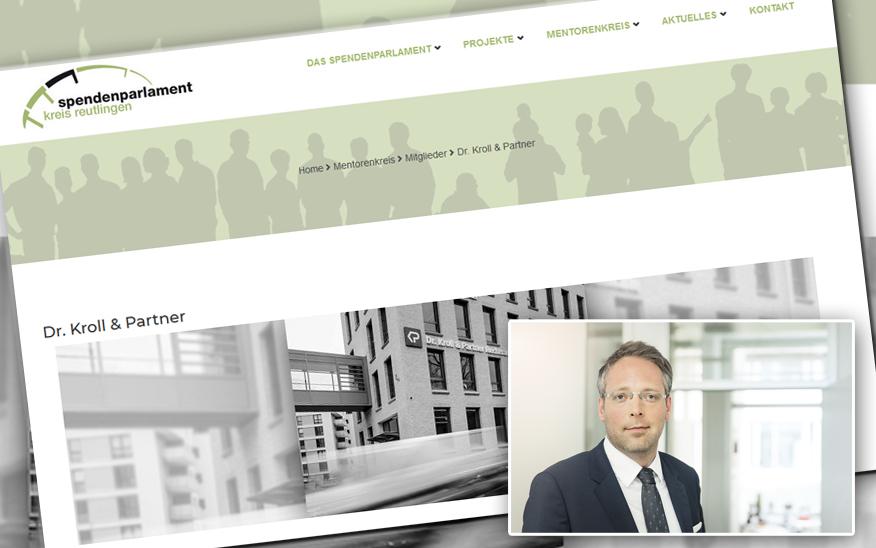 Jetzt auch Mitglied im Mentorenkreis – Dr. Kroll & Partner