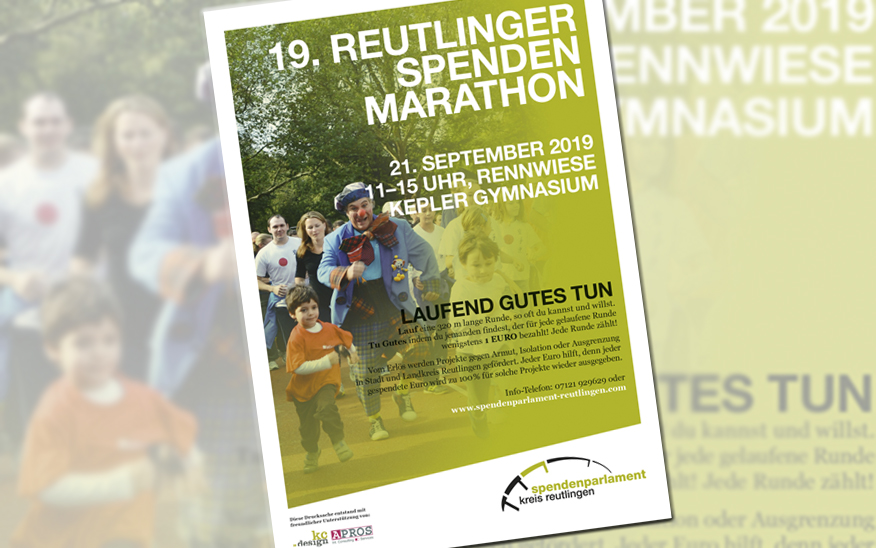 Nächster Spendenmarathon am 21. September 2019