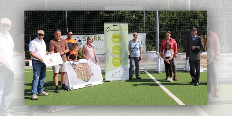 """""""Mini-Tore, große Hilfe"""" – Spende an SGM Juniors Reutlingen"""