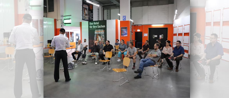 Unterstützung und Projektbesprechung bei myStorage AG Reutlingen