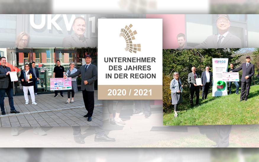 Auszeichnung Unternehmer des Jahres 2021 in der Region Reutlingen